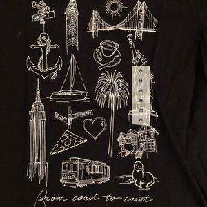 """Old Navy """"From coast to coast"""" t-shirt"""